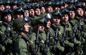 Rusija prie Baltijos šalių rengia pratybas, kuriose dalyvaus 2,5 tūkst. desantininkų