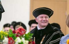 Inauguruotas Mykolo Romerio universiteto rektorius doc. dr. Algirdas Monkevičius