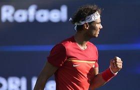 Rafaelis Nadalis rugsėjo mėnesį dalyvaus Daviso taurėje