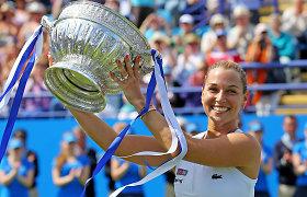 Dominika Cibulkova iškovojo savo antrąjį sezono trofėjų