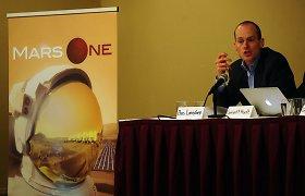 """""""Mars One"""" vadovas Basas Lansdorpas šventai tiki – po 12 metų žmonės jau gyvens Marse"""