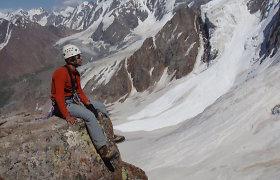 Alpinistas Juras Jorudas apie kalnų trauką: iš pradžių norisi naujo, vėliau sudėtingo