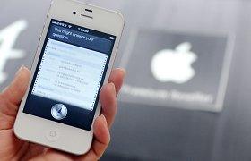 """Paaiškėjo, kieno balsu kalba """"iPhone"""" virtuali asistentė """"Siri"""""""