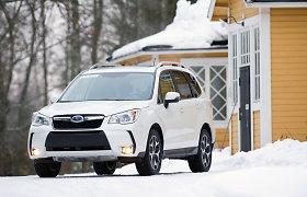 """""""Subaru Forester"""" pripažintas """"Motor Trend"""" metų visureigiu"""