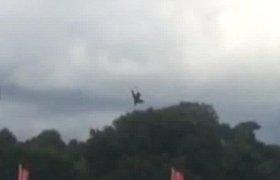 Aviacijos ir automobilių šventėje Češyre žuvo lakūnas