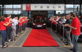 """Populiariausias naujas automobilis Norvegijoje rugsėjo mėnesį buvo """"Tesla Model S"""""""