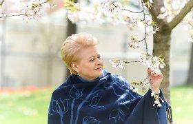 """Prieš """"Eurovizijos"""" finalą – Dalios Grybauskaitės linkėjimai Vaidui ir Monikai"""