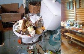 Zarasų gimnazistai nusiaubė svečių namus ir išpylė ten dirbusių ukrainiečių maistą