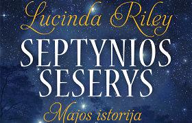 Ketvirtas Lucindos Riley romanas – apie Mają, vyriausią iš septynių seserų