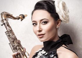 Gabrielės Grygolaitytės-Vashos fotosesija džiazo tema