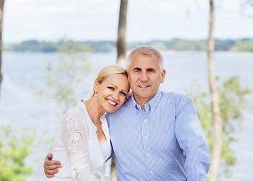 Loreta ir Vygaudas Ušackai atšventė 25-ąsias vestuvių metines