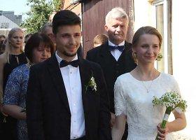 Vaidos Jašinskaitės ir Igno Koženiausko vestuvės