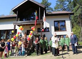 Laumėnų vaikams Vokietijos samariečiai pastatė dienos centrą