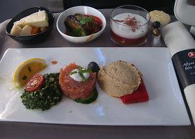 Nepriekaištinga Turkijos oro linijų lėktuvo virtuvė