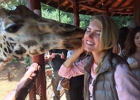 Egzotiška Ernestos Elzbergaitės viešnagė Kenijoje