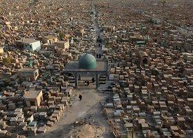 """""""Taikos slėnis"""" – didžiausios kapinės pasaulyje Irake"""