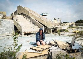 """""""Lino"""" baseino Palangoje griuvėsiai"""