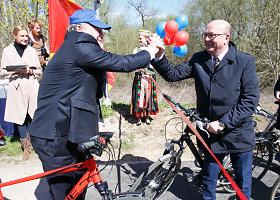 Kauną ir Kauno rajoną sujungė dviračių takas