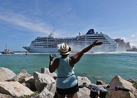 Iš JAV į Kubą išplaukė pirmasis per pusę šimtmečio kruizinis laivas