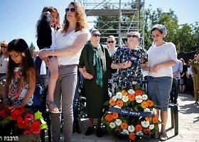 Tylos minute pagerbiamos Holokausto aukos Izraelyje