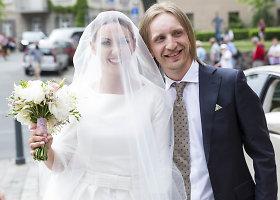 """""""Žalvarinio"""" lyderio Roberto Semeniuko ir Editos Matulevičiūtės vestuvės"""