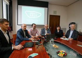 Kauno mero kabinete pristatytas mokslo ir inovacijų centro projektas