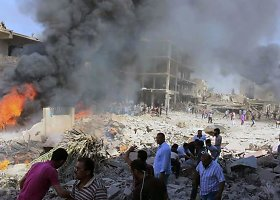 Sprogimas Sirijos kurdų mieste