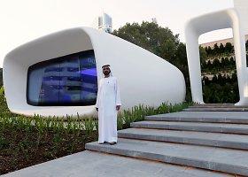Dubajuje atidarytas pirmasis pasaulyje 3D spausdintuvu atspausdintas pastatas