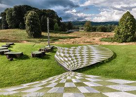 Kerintis kosminės spekuliacijos sodas Škotijoje