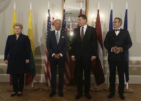 JAV viceprezidento Joe Bideno vizitas Latvijoje