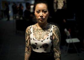 Tatuiruočių festivalis Kinijoje