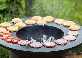 Jautienos burgeriai gamtoje greitai ir paprastai