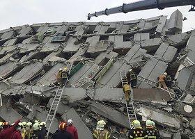 Taivaną supurtė stiprus žemės drebėjimas: