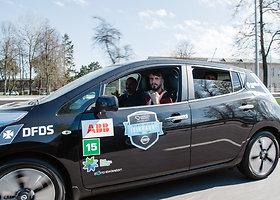 Antrosios elektromobilių lenktynės: pakeliui į finišą