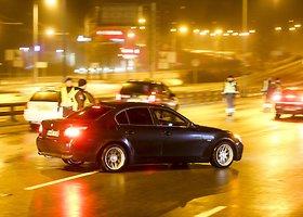 Vilniuje – vairuotojų blaivumo patikrinimas