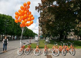 Kaune pradėta teikti dviračių dalinimosi paslauga