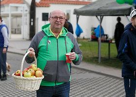 Kauno meras šiukšles rinko Pažaislyje