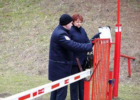 Statybos inspektoriai tikrino Kauno jachtklubo tvoras