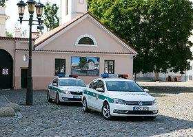Kauno centre policija tikrino vairuotojų greitį