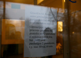 Įspėjamasis streikas Kauno Kovo 11-osios gimnazijoje