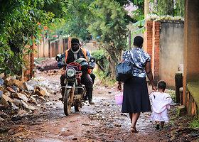 Lietuviai – Ugandos sostinėje Kampaloje