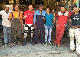 Egidijaus Pudžiuvelio kelionė motociklu po Maroką