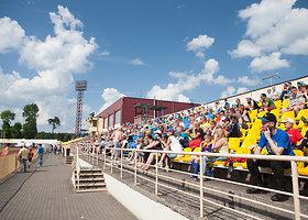 Futbolo rungtynės Klaipėdoje: Lietuva-Estija