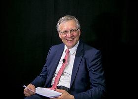 15min tiesioginėje konferencijoje – Vilniaus universiteto rektorius prof. Artūras Žukauskas