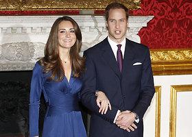 Princo Williamo ir Catherine vestuvių metinės: penkeri meilės metai