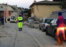 Italiją sudrebino stiprus žemės drebėjimas