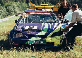 """Edvino Mardoso avarija """"Wolf Race"""" varžybose"""