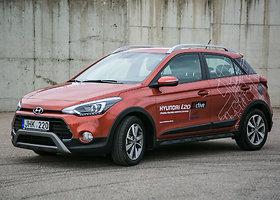 """Hyundai i20 Active"" – padidinto pravažumo i20"