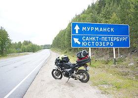 Keliautojų akimirkos Murmanske
