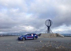 Kelionės Nordkapas-Tarifa startas